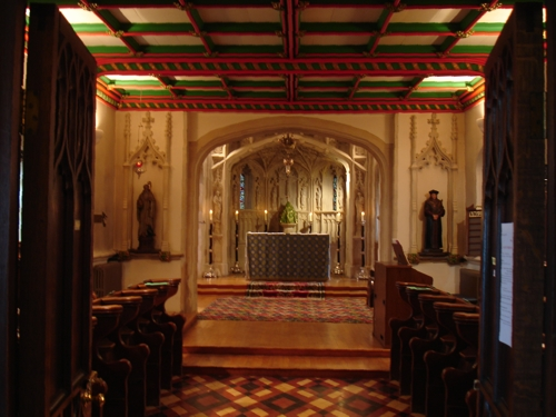 Choir Sanctuary in the Abbey, 2008