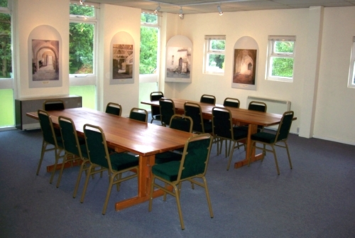 Prinknash Abbey Meeting Room near the Cafe